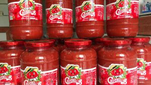 کاهش صادرات رب گوجه