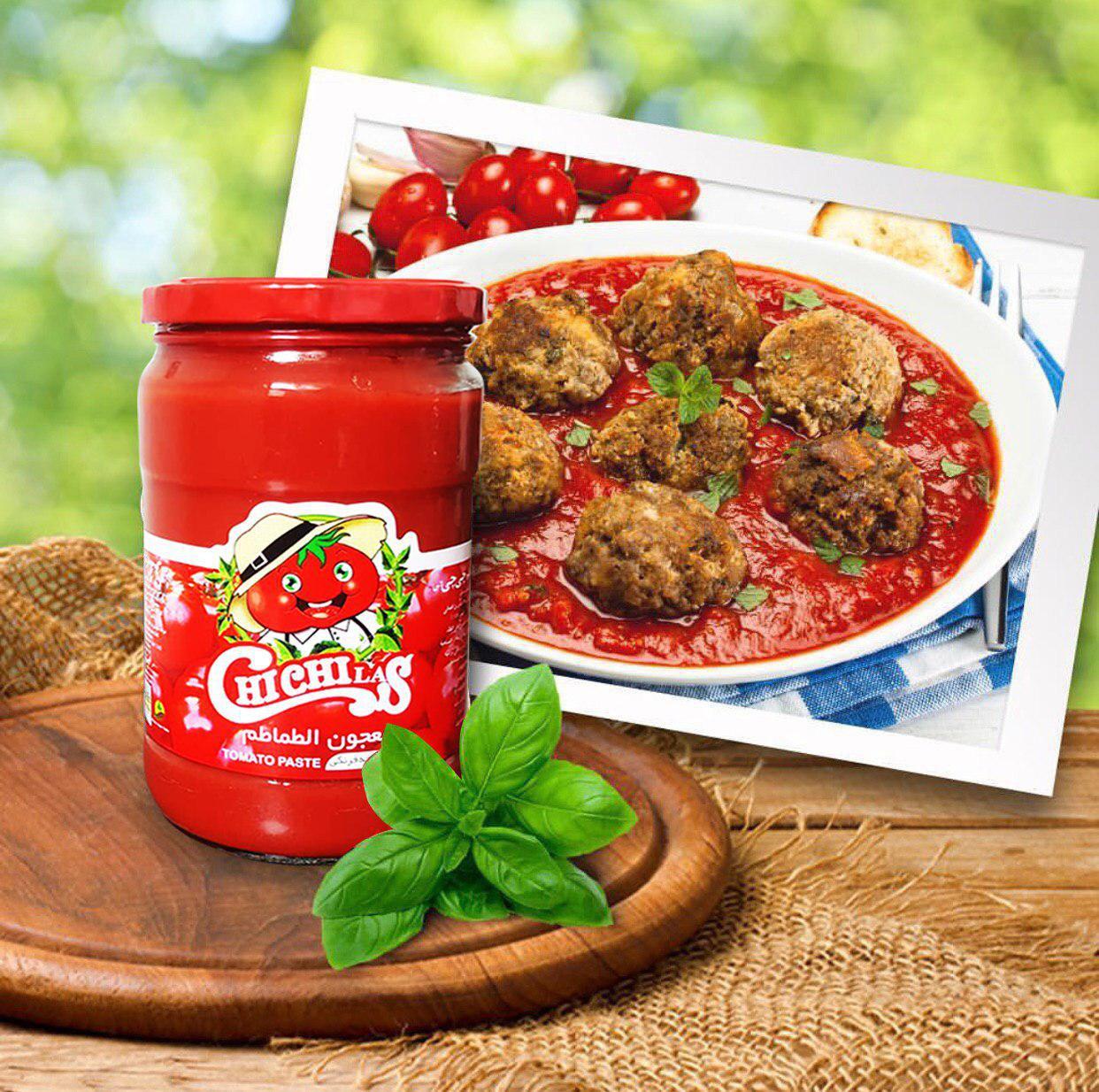فروش رب گوجه فرنگی ارگانیک چی چی لاس