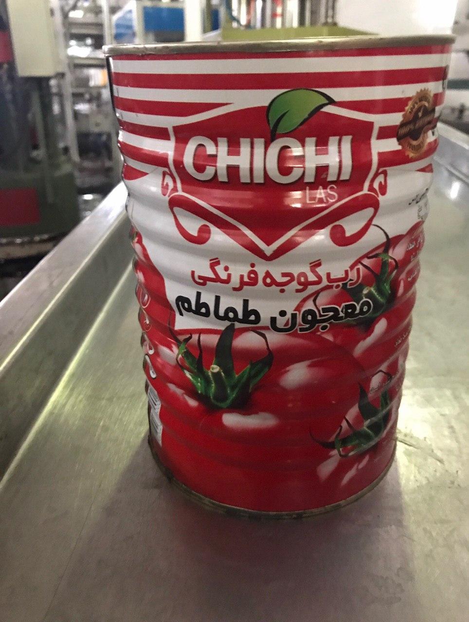 خرید رب گوجه صنعتی 5 کیلویی قوطی