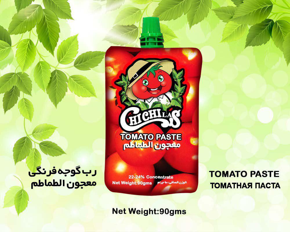 رب گوجه فرنگی پاکتی چی چی لاس