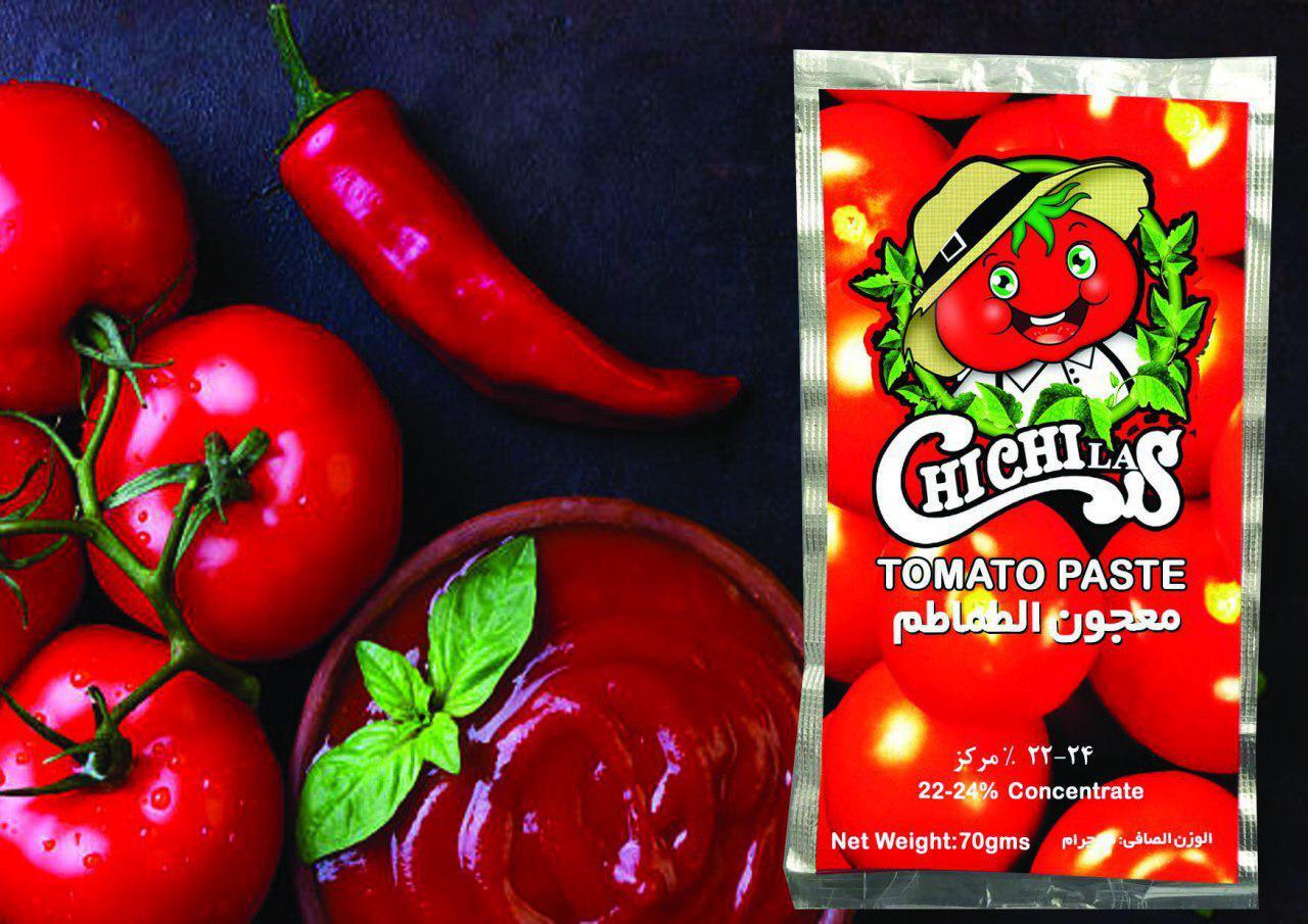 تولید کننده رب گوجه پاکتی چی چی لاس