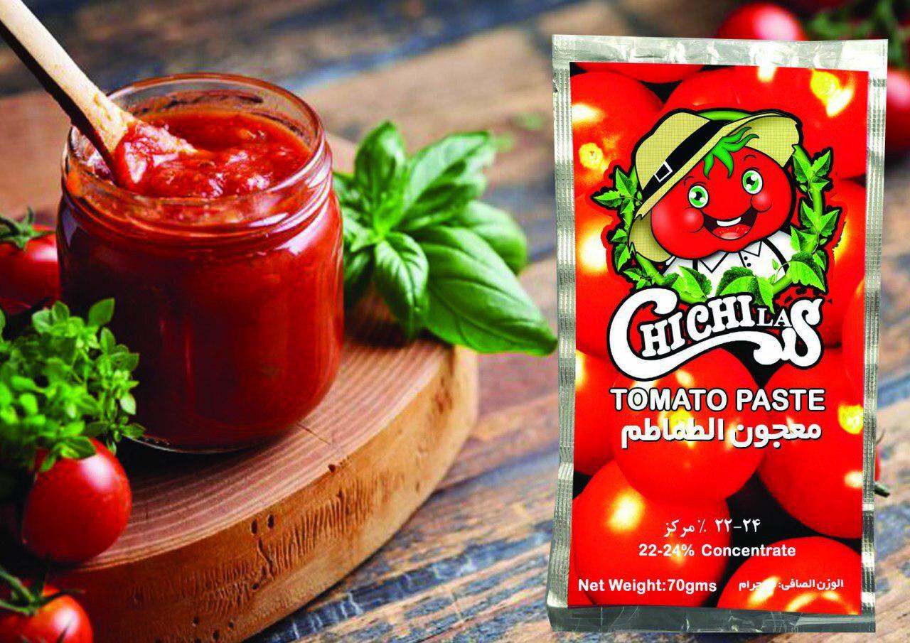 تولید کننده رب گوجه فرنگی پاکتی چی چی لاس