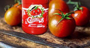 رب گوجه فرنگی شیشه با اوزان گوناگون