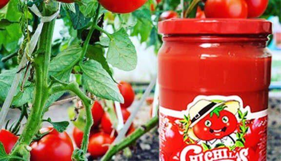 رب گوجه شیشه چی چی لاس