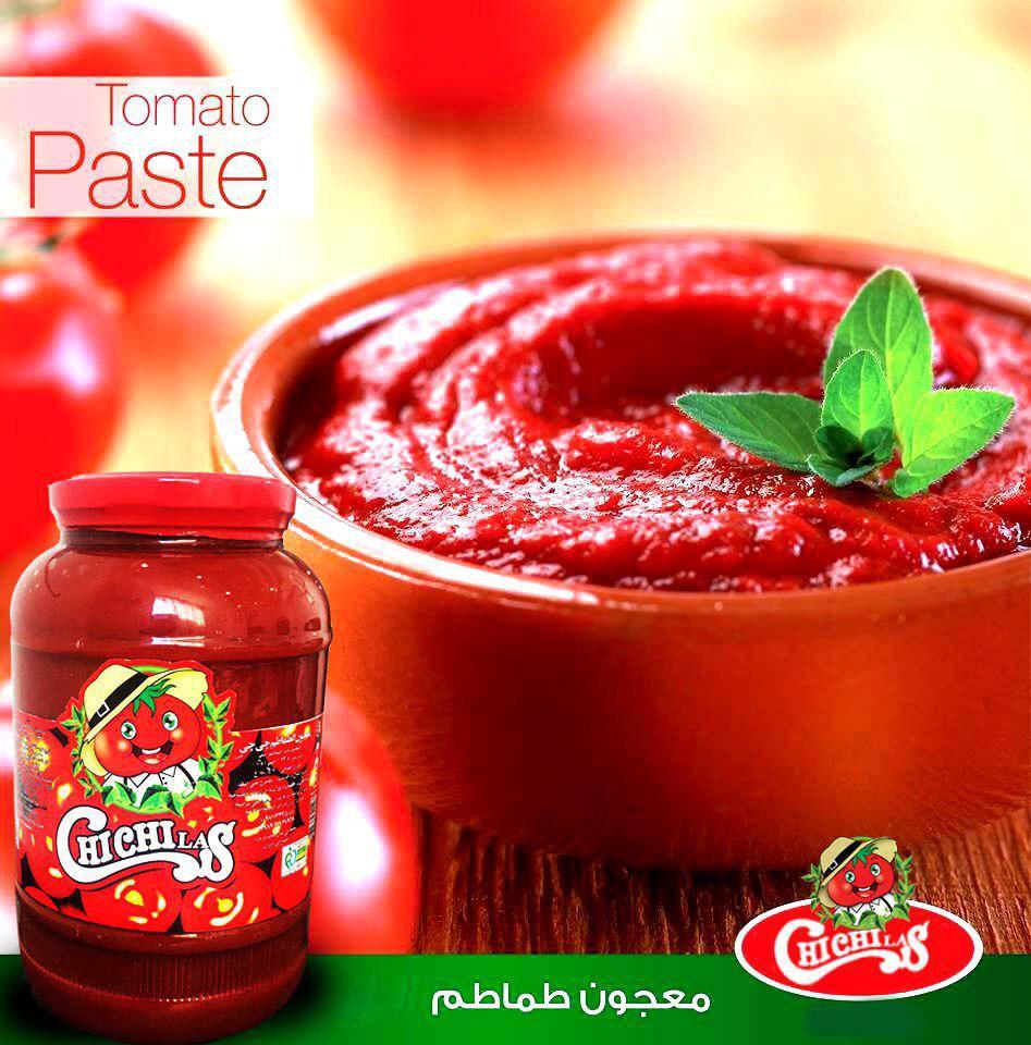 رب گوجه فرنگی شیشه درجه یک چی چی لاس