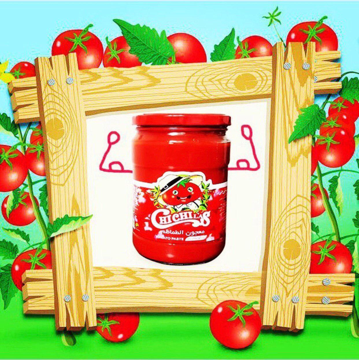 رب گوجه فرنگی 1550 گرمی شیشه ای
