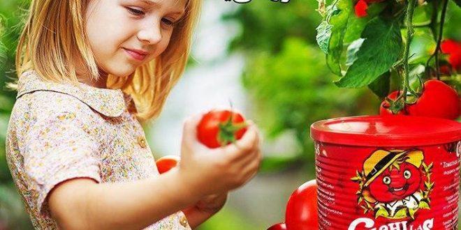 رب گوجه فرنگی با بسته بندی قوطی مارک چی چی لاس