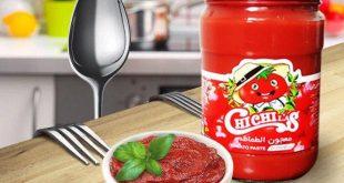 رب گوجه فرنگی شیشه ای درجه یک چی چی لاس