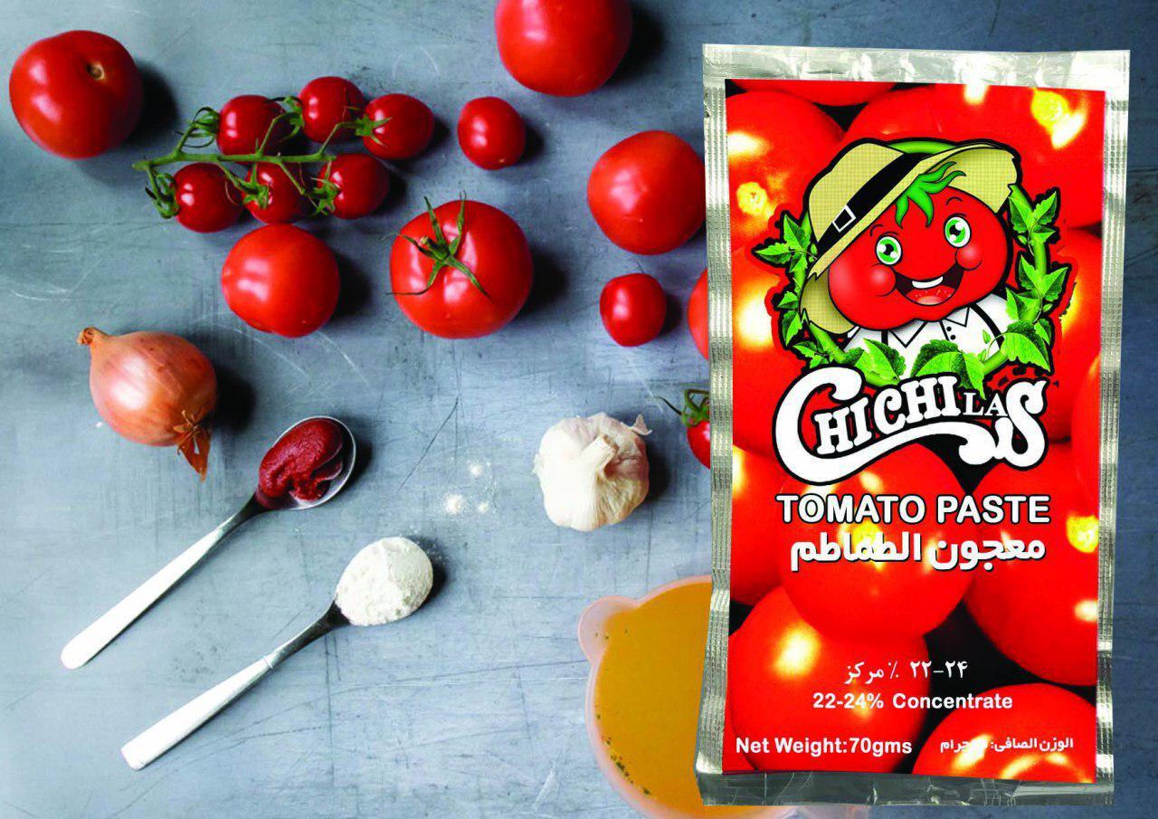 رب گوجه فرنگی ساشه با برند چی چی لاس