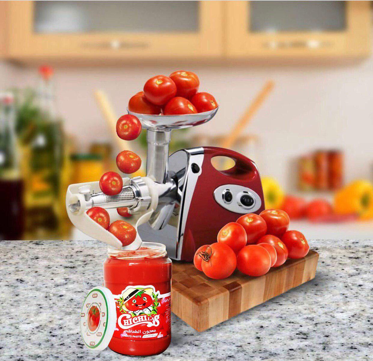 رب گوجه فرنگی شیشه درجه یک مارک چی چی لاس