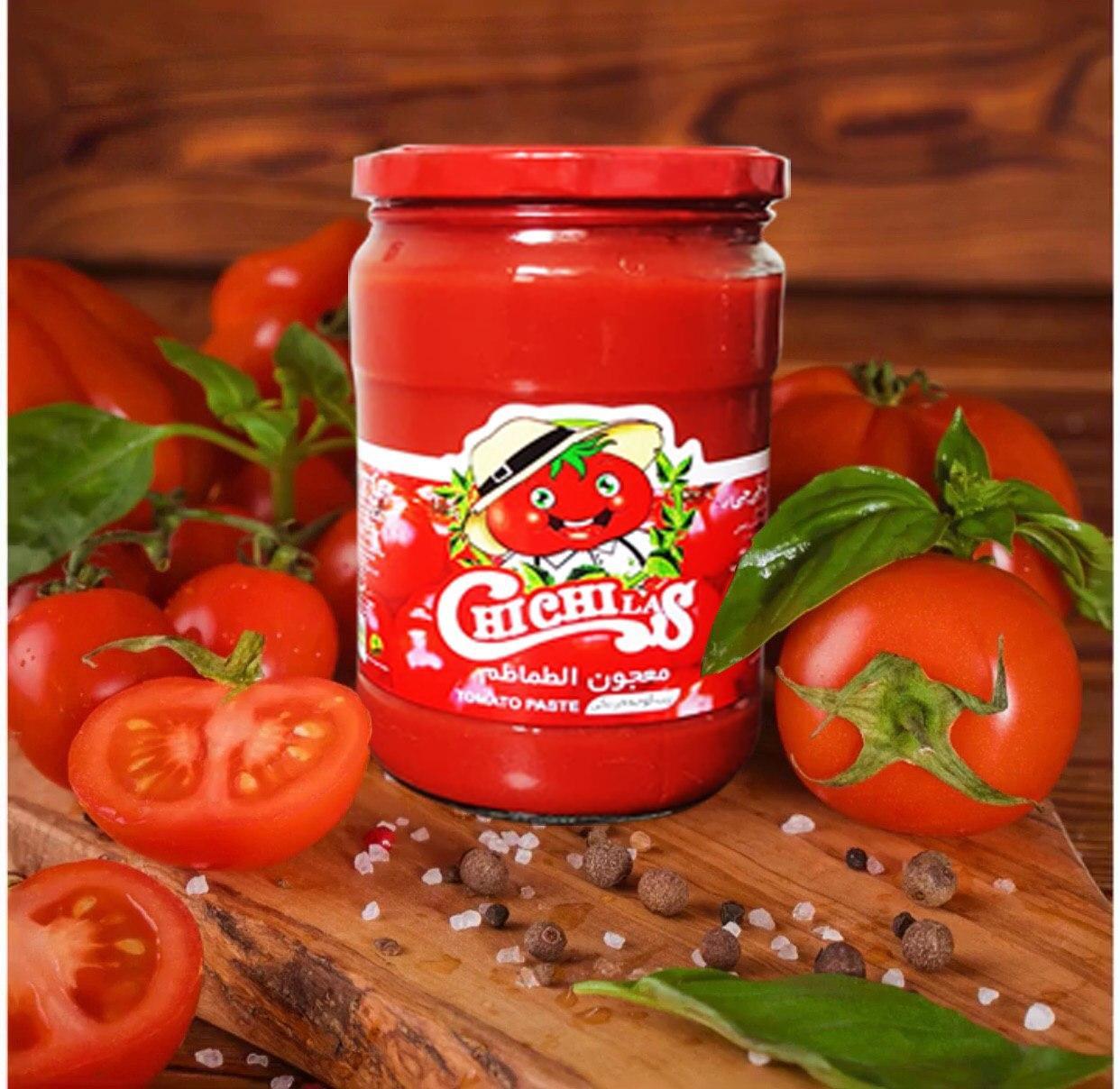 رب گوجه فرنگی شیشه 1550 گرمی چی چی لاس