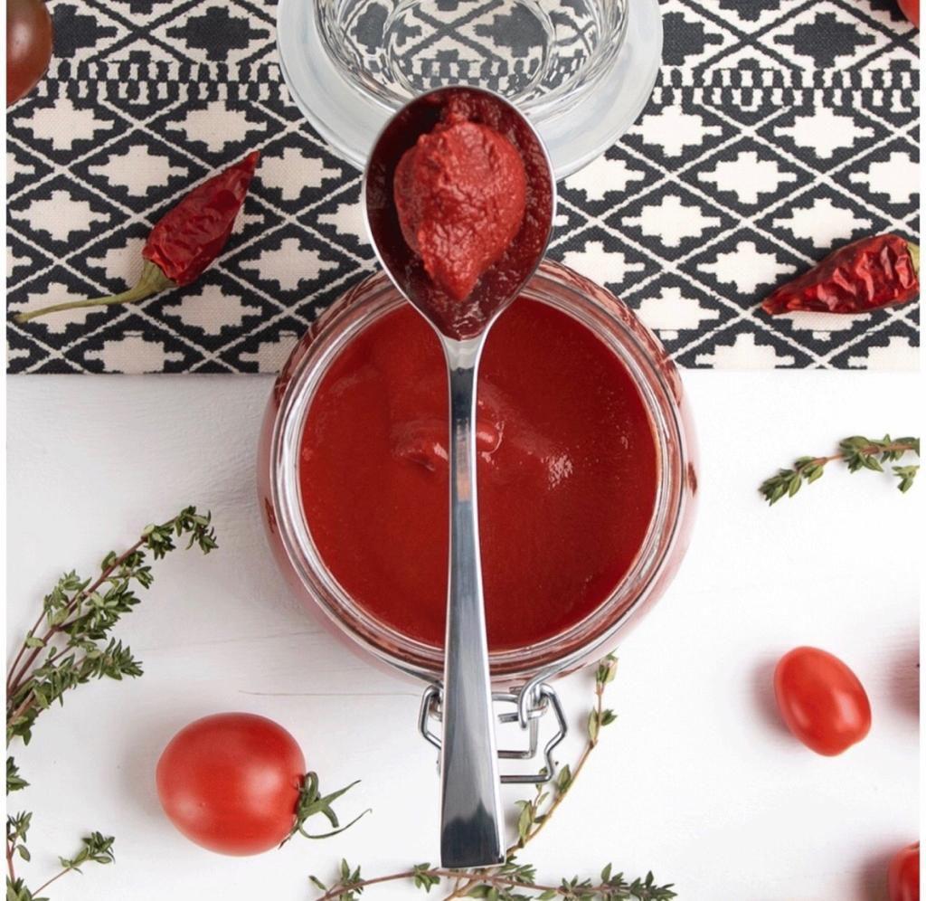 ترکیبات رب گوجه فرنگی چی چی لاس