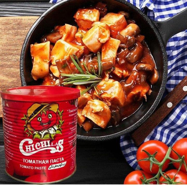 رب گوجه قوطی 800 گرمی
