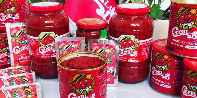 مارک های متفاوت رب گوجه درجه یک