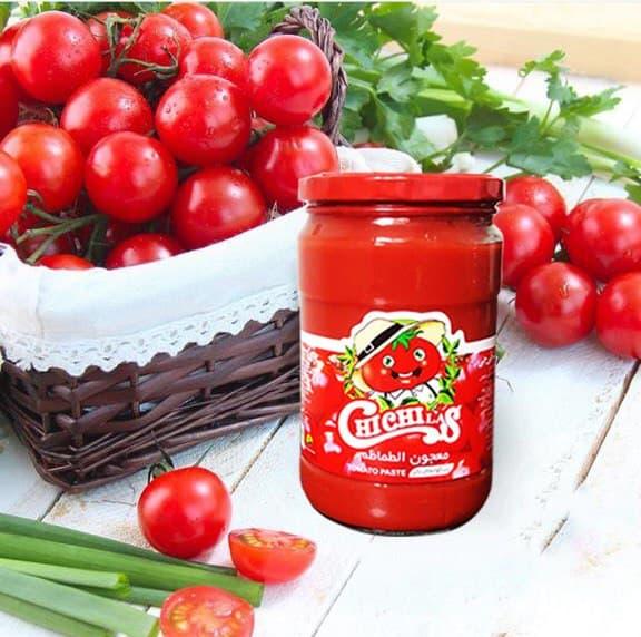 رب گوجه فرنگی شیشه چی چی لاس با بهترین کیفیت