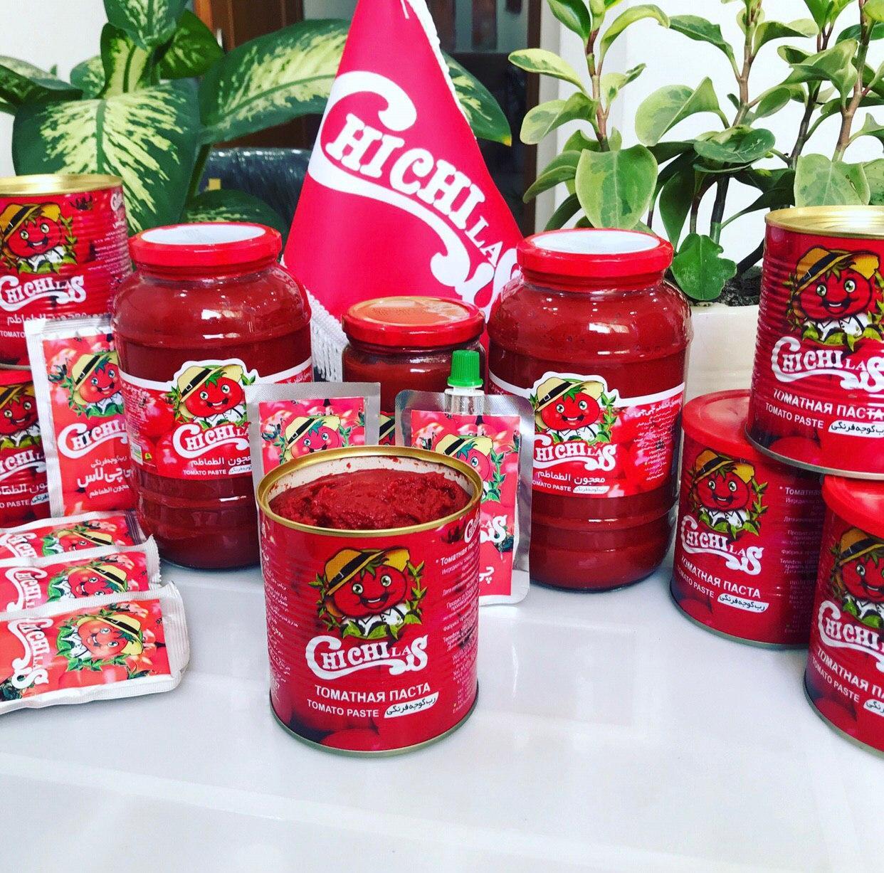 رب گوجه فرنگی صادراتی با بهترین مارک